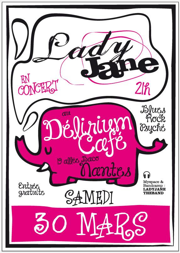 ladyJane@delirium cafe