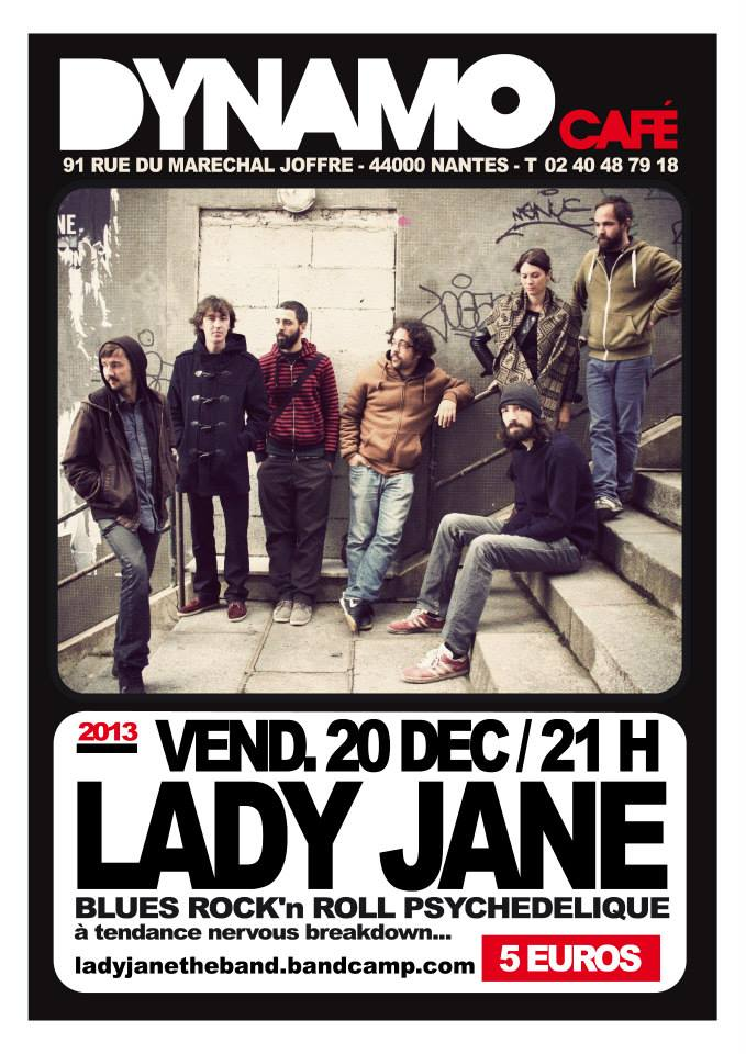 Lady Jane au Dynamo